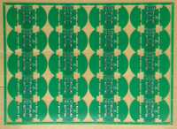 I have received the finished PCB for the Lin Bus Lamp